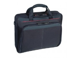 "NEW Targus Classic Clamshell Case Black up to 15.4""-16"" Notebook Laptop Bag CN31"