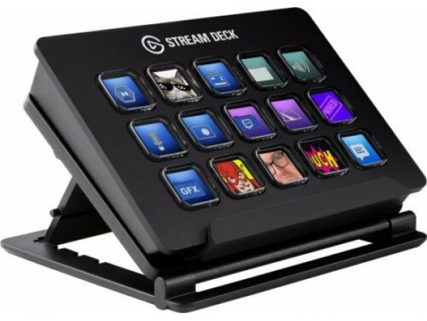 Elgato Stream Deck USB Live Content Creation Controller 15 Customizable LCD Keys