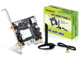 Gigabyte GC-WB1733D-I WiFi Adapter Intel Wireless-AC 9260 PCI-E Antenna BLUETOOT