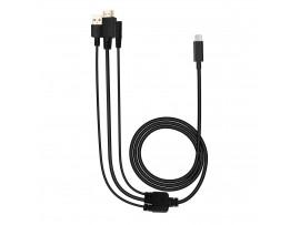NEW Huion CB06 3-in-1 Cable For Kamvas 22 & Kamvas 22 Plus Drawing Pen Display