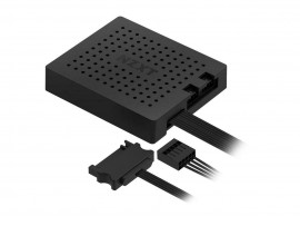 NZXT RGB & Fan Controller Module Two RGB LED Lighting Channels Magnet Mounting