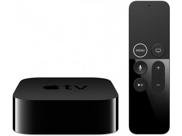 Apple TV 4K 64GB Media Streamer Siri Remote HDMI Wi-Fi Bluetooth LAN MP7P2HB/A