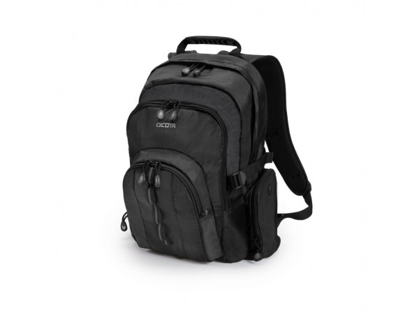 "DICOTA Backpack BLACK Universal 14""-15.6"" Notebook Laptop Removable Case D31008"
