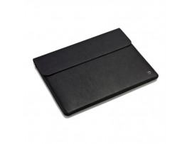 "DICOTA Genuine Leather Black Case 10"" Sleeve Cover Tablet Magnet closure D31177"
