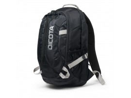 "NEW DICOTA Backpack ACTIVE 14""-15.6"" BLACK Notebook Laptop Lightweight D31220"