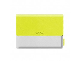 NEW Lenovo Sleeve case White/Yellow Film screen protector Flip Yoga tablet3 8""