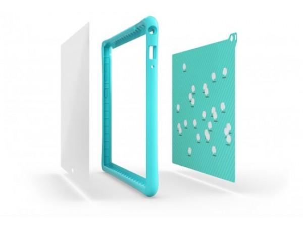 Lenovo Kids Pack Bumper Screen Protector 2xStickers TAB 4 Plus TB-X704 Mint Blue
