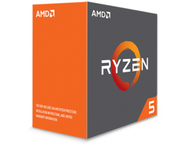 AMD RYZEN 5 1600 Zen Six-Core 3.2GHz Socket AM4 65W Desktop CPU Processor BOX