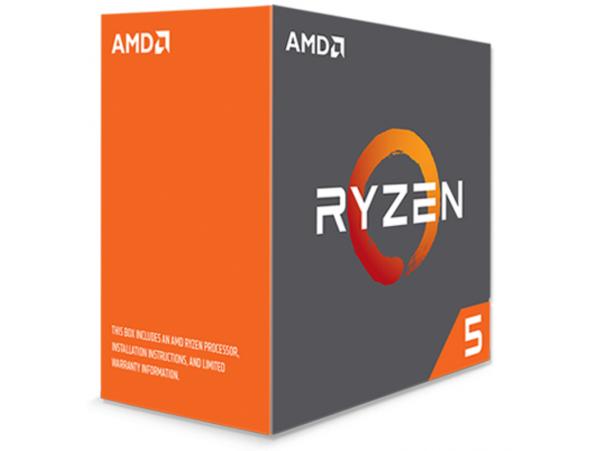 AMD RYZEN 5 1600 Zen Six-Core 3.2GHz Socket AM4 65W Desktop CPU Processor BOX