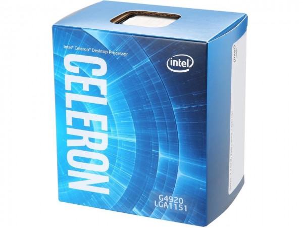 Intel Celeron G4920 3.20GHz 2M Cache Dual-Core CPU Processor SR3YL LGA1151 BOX