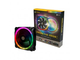 Antec Prizm 140 ARGB Dual-Ring RGB Light 140mm Case Fan PWM 1700RPM AN3-P1400