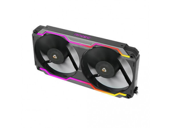 Antec Prizm Cooling Matrix 240mm Radiator Compatibility ARGB Control Dual Fan