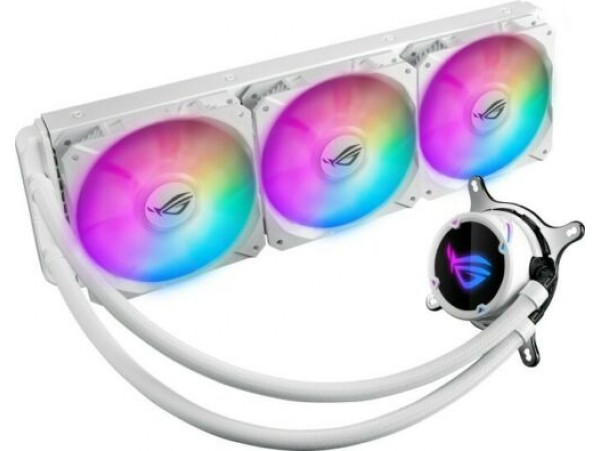 ASUS ROG STRIX LC 360 RGB White Edition AIO Liquid CPU Cooler Triple 12cm FAN
