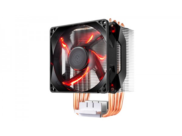 Cooler Master HYPER H410R Red LED PWM Fan CPU Cooler LGA 775/1150/1151/1155 AM4