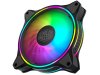 3-Pack Cooler Master MasterFan MF120 Halo 120mm ARGB Case Fan SILENT 4-Pin PWM