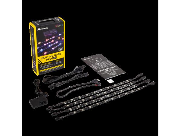 Corsair Lighting Node Pro ADDRESSABLE RGB LED STRIPS DUAL CHANNEL CL-9011109-WW