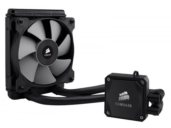 Corsair Hydro H60 Liquid CPU Cooler AMD AM3 Intel LGA 1150 1155 1156 1366 2011