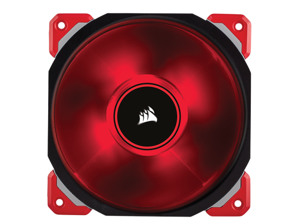Corsair ML120 PRO Fan LED Color RED PWM Magnetic Levitation 120mm 2400RPM 4-pin