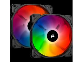 Corsair iCUE SP140 RGB PRO 140mm Cooling Case Dual Fan Kit Lighting Node CORE