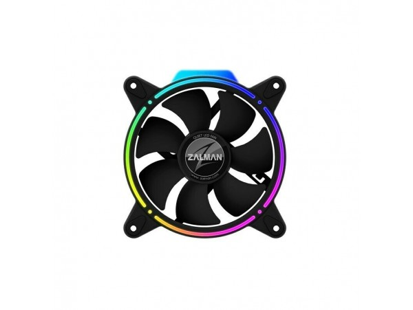 ZALMAN ZM-RFD120A 120MM DUAL Spectrum ADDRESABLE RGB LED Cooling Case FAN 4-PIN