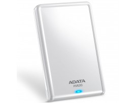 "ADATA HV620S WHITE 1TB 2.5"" HDD 5400RPM Slim & Light External Hard Drive USB 3.1"