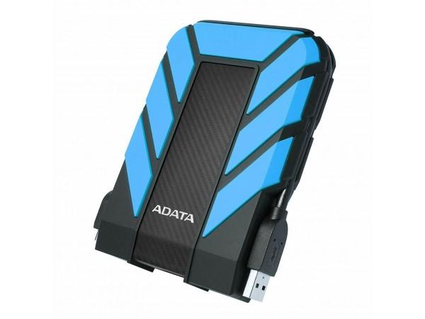 NEW ADATA HD710 Pro Blue External HDD 1TB IP68 Waterproof Shockproof Hard Drive