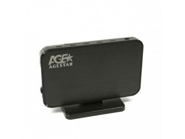 "NEW Agestar 3UB3A8 3.5"" SATA HDD/SSD to USB 3.0 Aluminum External Case Hard Disk"