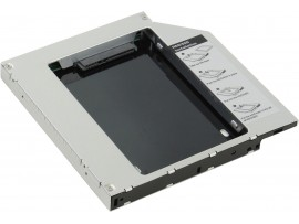 "Agestar SSMR2S SATA 2.5"" HDD SSD Caddy Tray Laptop Notebook CD/DVD Bay Adapter"