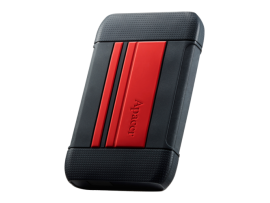 Apacer AC633 Military-Grade Shockproof IP55 2TB HDD Red Portable Hard Drive USB