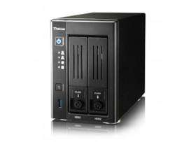 Thecus N2810 2-bay SATA NAS Server RAID USB3.0 LAN Celeron N3050 4K Media HDMI