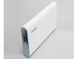 "ZALMAN ZM-HE250 U3 External 2.5"" SATA HDD/SSD Case WHITE USB 3.0 Aluminum Pouch"