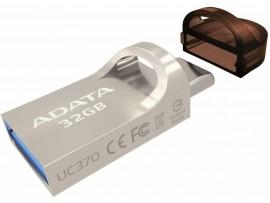 NEW ADATA UC370 32GB OTG Flash Drive USB 3.2 USB-C Memory Stick AUC370-32G-RGD