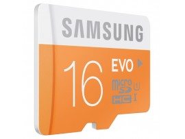 Original Samsung EVO 16GB MicroSD HC Class 10 up 48MB UHS-1 Memory Card Adapter