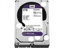 """WD Purple 2TB Video 24/7 HDD Hard Disk Drive 5400RPM 64MB SATA3 3.5"""" WD20PURZ"""