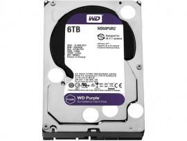 """WD Purple 6TB Video 24/7 HDD Hard Disk Drive 5400RPM 64MB SATA3 3.5"""" WD60PURZ"""