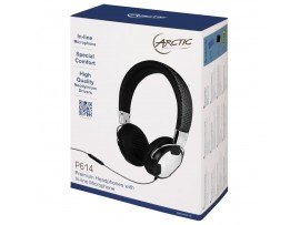 NEW Arctic P614 On-Ear Studio Headphones Microphone Music Player MP3 Smartphone