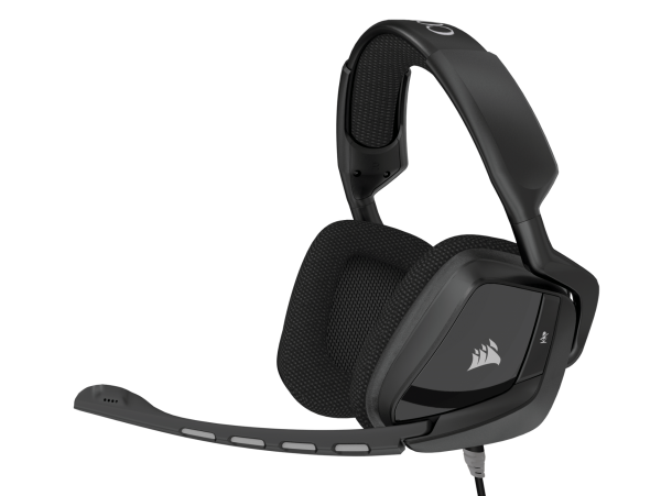 Corsair VOID Surround Hybrid Stereo Gaming Headset Dolby 7.1 USB Adapter PC PS4