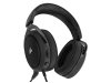 Corsair HS50 Stereo Gaming Headset Carbon 3.5mm Jack Microphone CA-9011170-EU