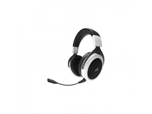 Corsair HS60 SURROUND Virtual 7.1 Gaming Headset WHITE Microphone CA-9011174-EU