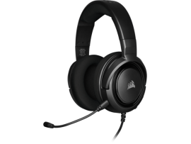Corsair HS35 Carbon Stereo Gaming Headset Microphone Wired 3.5mm PC Xbox One PS4