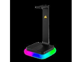 NEW Corsair ST100 RGB Premium Headset Stand with 7.1 Surround Sound LED lighting