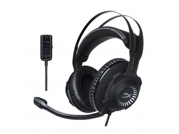 Kingston HyperX Cloud Revolver Gaming Headset Gun Metel Surround 7.1 microphone