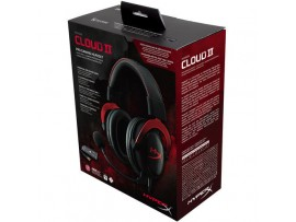 New KINGSTON HyperX Cloud II Pro Gaming Headset 7.1 Virtual Surround Sound RED