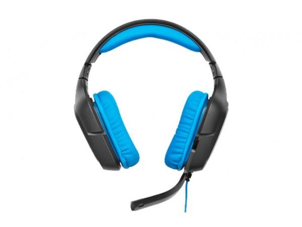 Logitech G430 Black/Blue SURROUND SOUND GAMING Headband Headsets PC USB Wired