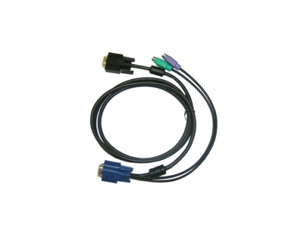 D-LINK DKVM-IPCB KVM over IP Switch Cable 1.8M 6FT VGA Monitor Keyboard Mouse
