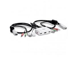 TrendNet TK-215i 2-Port HDMI KVM Switch Full HD 1080p 3.5mm audio USB Powered