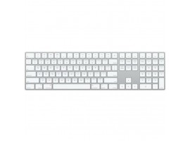 Apple Magic Keyboard with Numeric Keypad English Hebrew Silver color MQ052HB/A