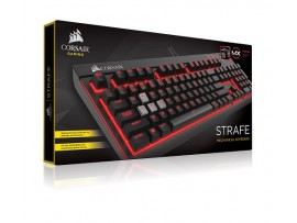 NEW Corsair STRAFE Mechanical Gaming Keyboard Cherry MX Brown USB Wired Red LED