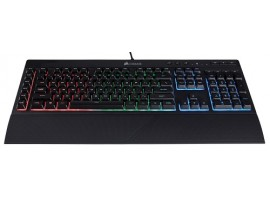 NEW Corsair K55 RGB Gaming Keyboard USB Wired Dynamic Backlight LED Customizable