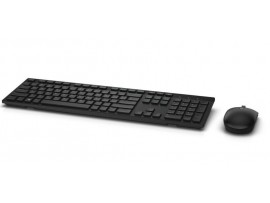 Dell KM636 Wireless Keyboard & Mouse SET Black English Hebrew Long battery life